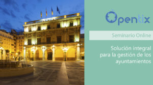 Webinar ayuntamientos Opentix