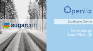 Novedades SugarCRM Winter '20