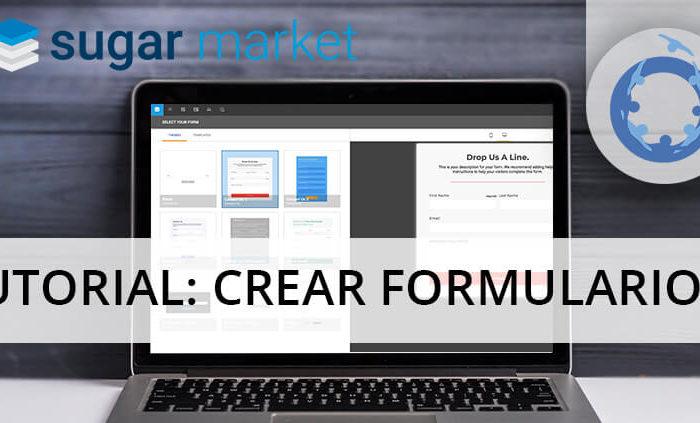 Cómo diseñar formularios para una web con Sugar Market