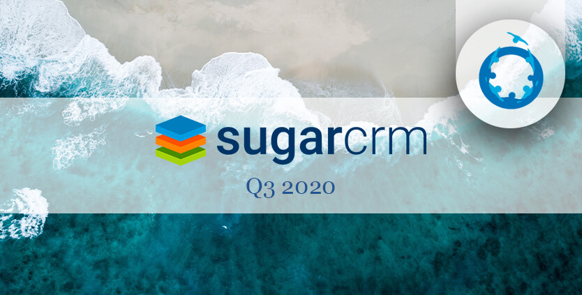 Sugar CRM Q2 2020