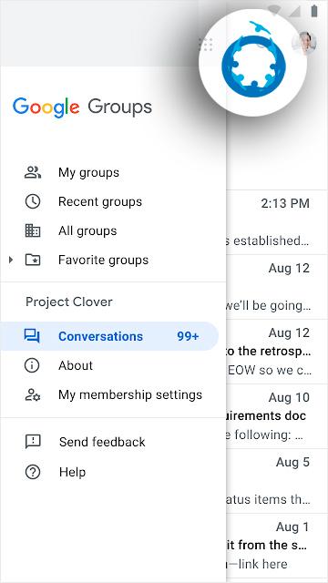google-groups-menu